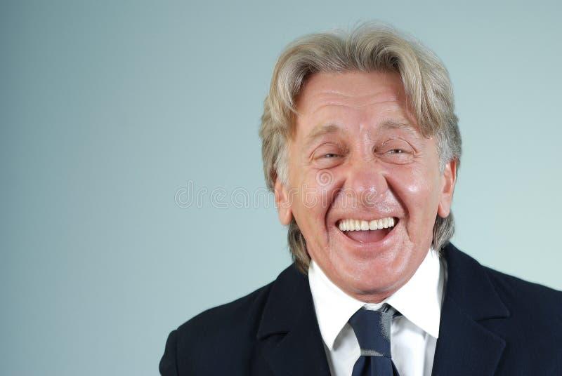 Type riant heureux photos stock