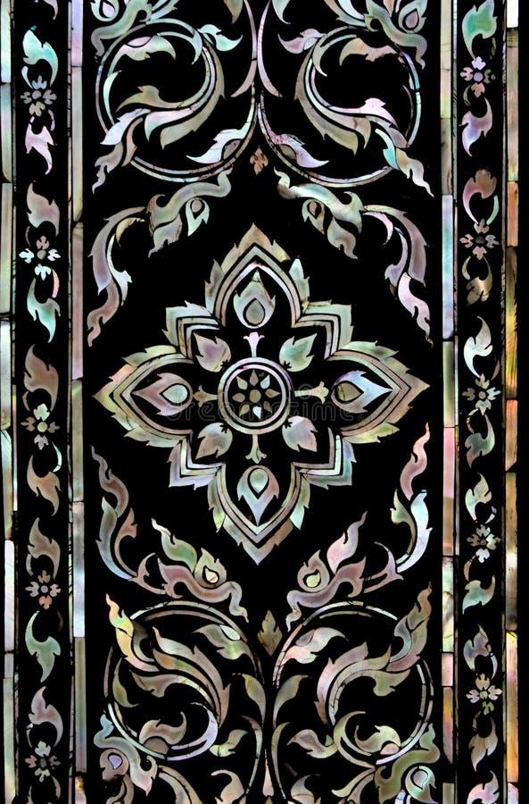Type thaï d'art de texture image libre de droits