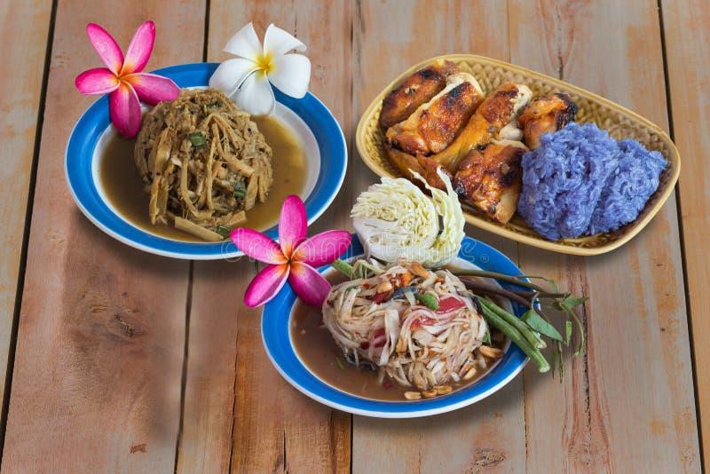 Type thaï de nourriture image stock