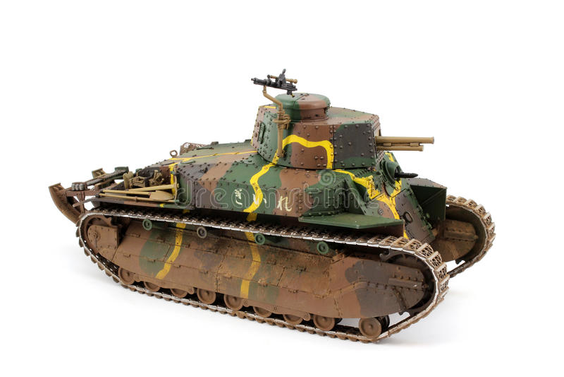 Type-89 tidigt kamouflage för fyra färg arkivfoton