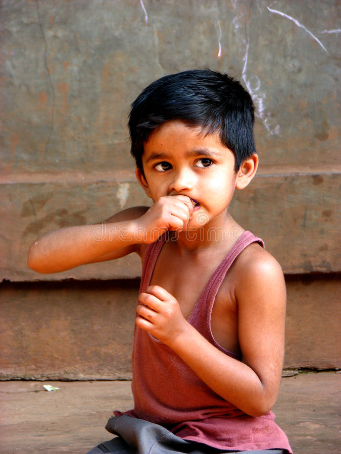 Type timide photo libre de droits