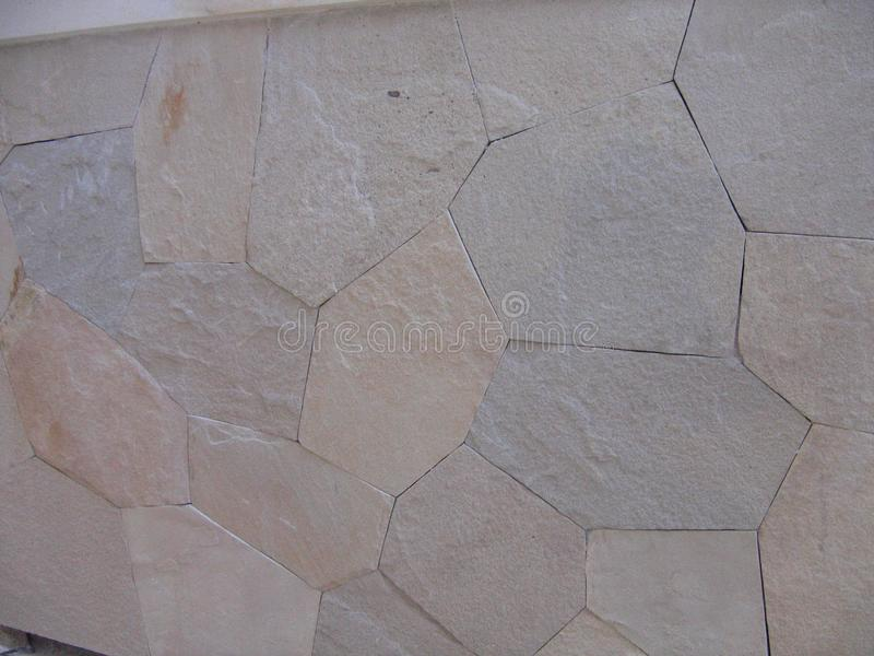 Type vue de fond de petites roches sur une route de trottoir photographie stock