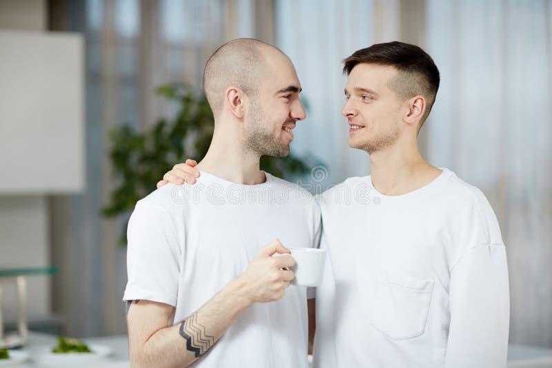 Types amoureux image libre de droits