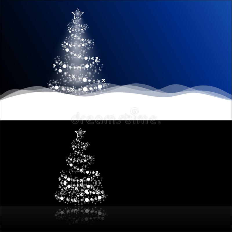 2 types of Christmas or New Years background stock image