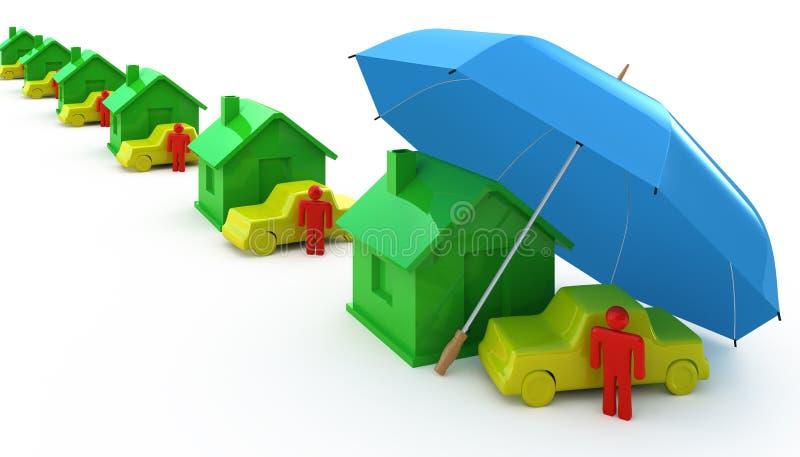 Types d'assurance photos stock