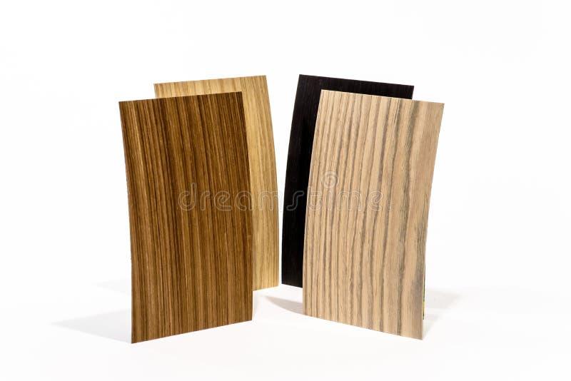 Types en bois de couverture réglés photo libre de droits