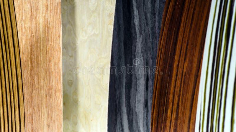 Types en bois de couverture réglés image libre de droits