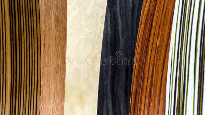 Types en bois de couverture réglés images libres de droits