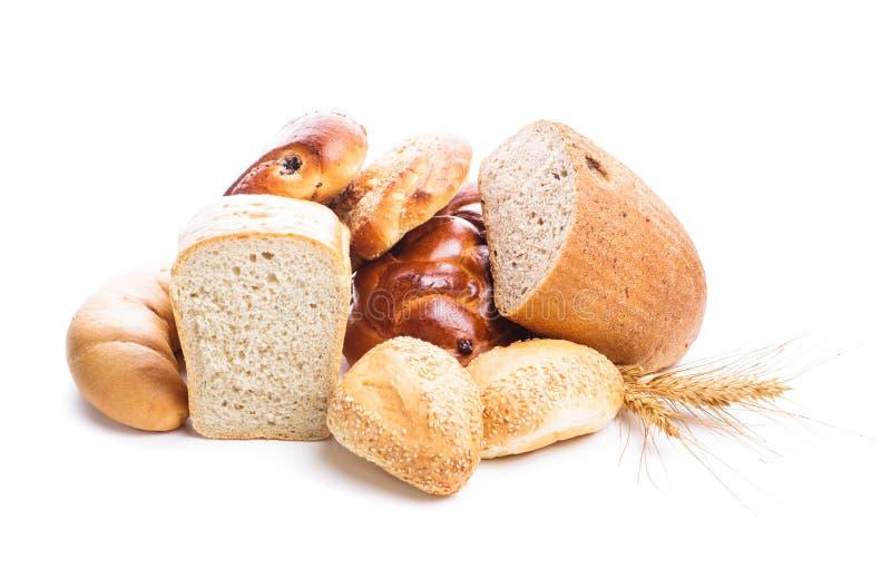 Types van brood royalty-vrije stock foto