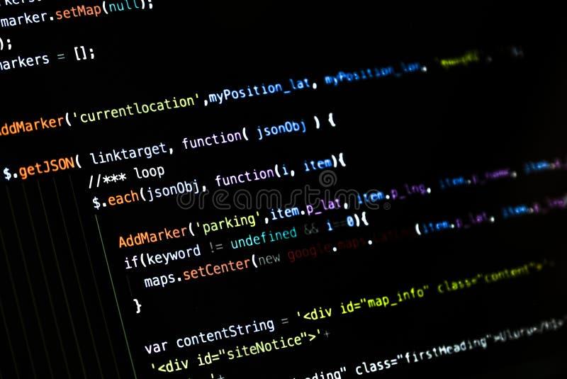 Typescript code for ionic framework 3 stock images