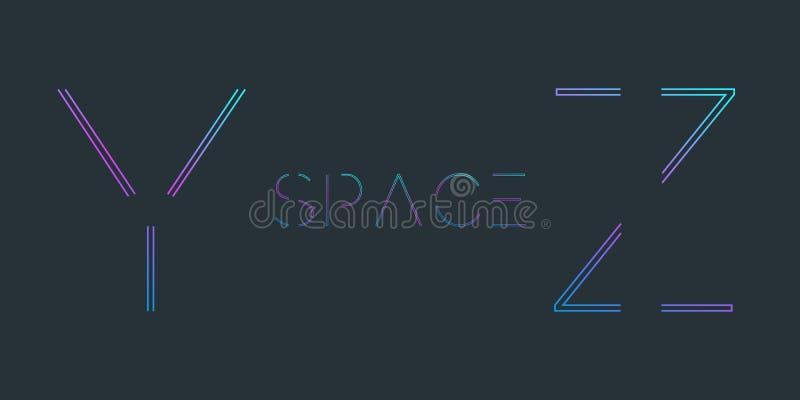 typescript Police avec la conception minimale illustration de vecteur