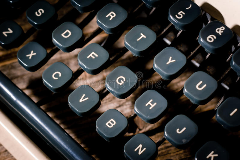 The typewriter royalty free stock photography