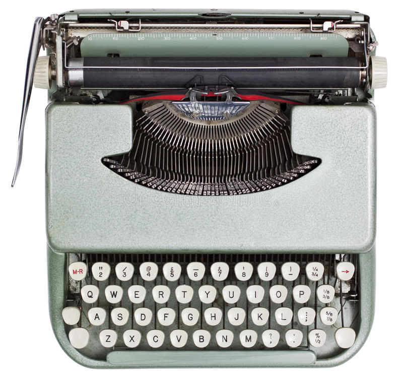 Download Typewriter stock image. Image of classic, business, antique - 26312465