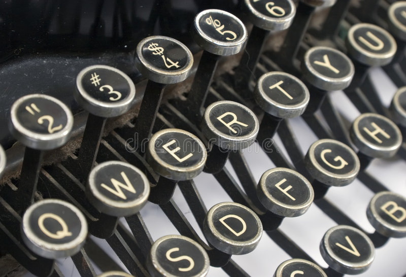 Download Typewriter stock image. Image of classic, retro, administration - 3171697