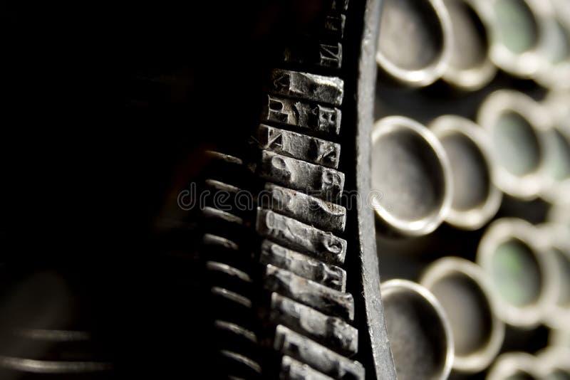 Download Typewriter stock image. Image of metal, write, character - 4945963