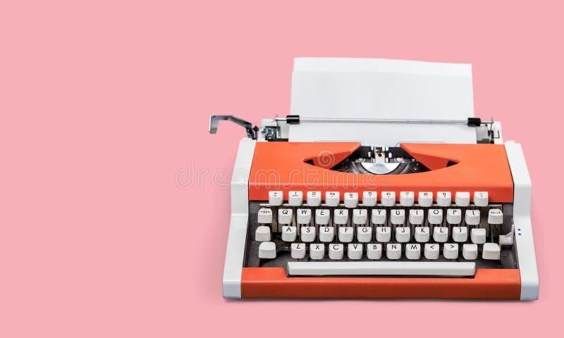 Typewriter. Antique author background blank blog blogger royalty free stock photography
