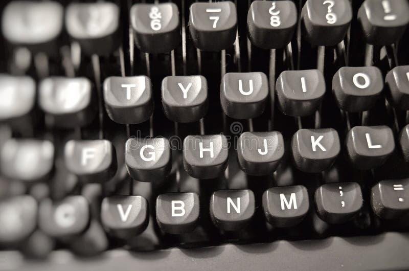Typewriter. stock photo