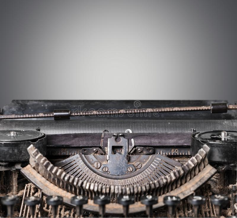 Typewriter. Storytelling fairy tale book journalist old writing royalty free stock photos