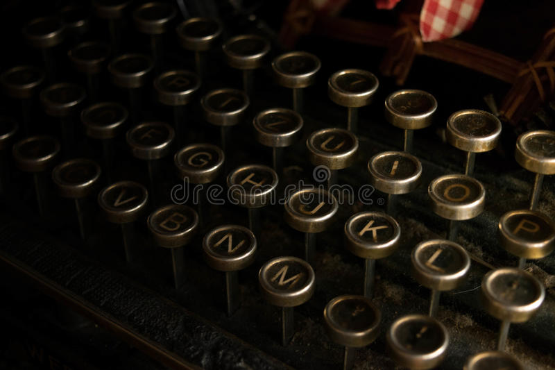 Typewritter arkivbild