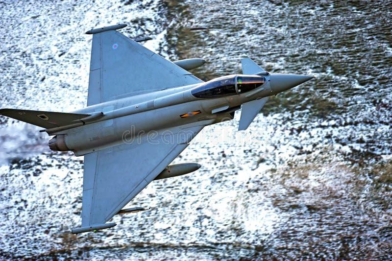 Typhone F2 eurofighter fotografering för bildbyråer