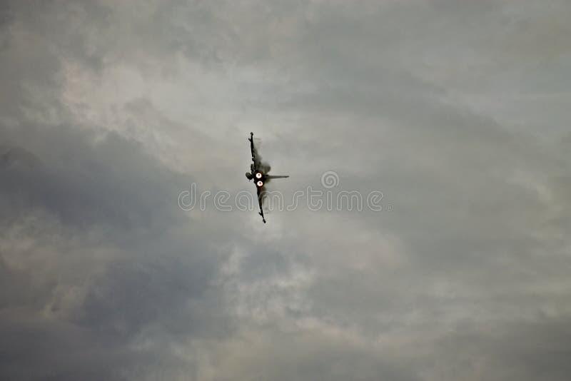 Typhoon för RAF Eurofighter royaltyfria foton