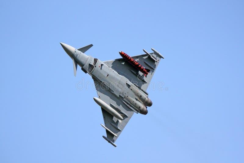 Typhoon fighter jet royalty free stock photos