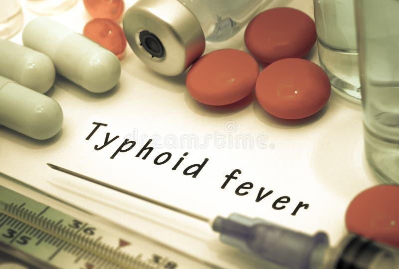 Typhus stockbild