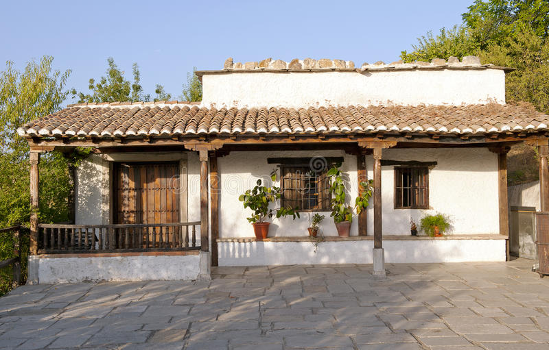 Download Typical Alpujarra House stock image. Image of typical - 20861075