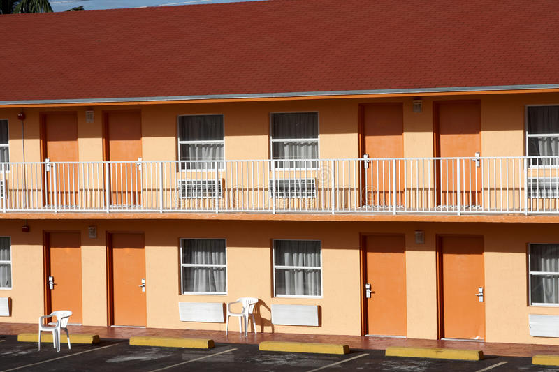 Download Typical American Motel stock photo. Image of motel, doors - 22498066