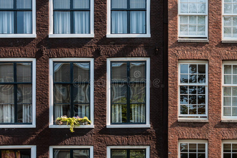 Typical Amsterdam house