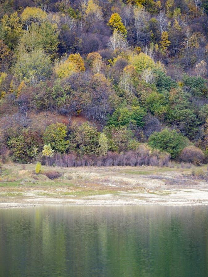 Autumn colours in Romania stock photography
