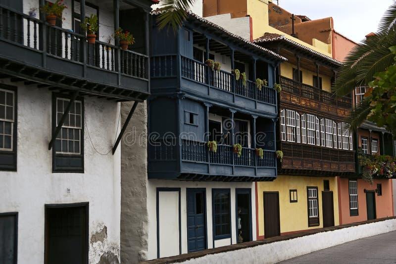 Download Typical balconies stock photo. Image of landmark, islas - 38573646