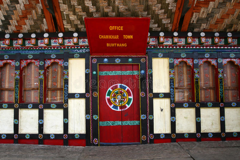 Download Typical Bhutanese Door And Windows Stock Photo - Image: 15063972