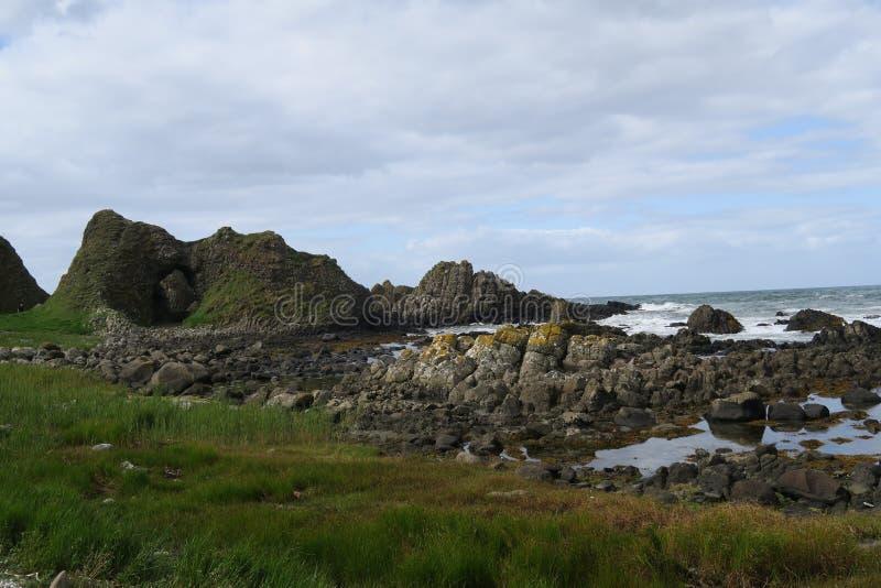 Coast of Northern Ireland stock photography