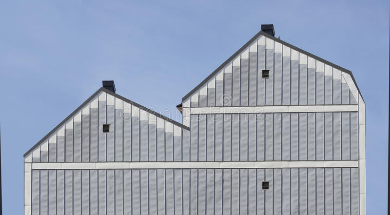 Typical building in Scandinavia stock photography