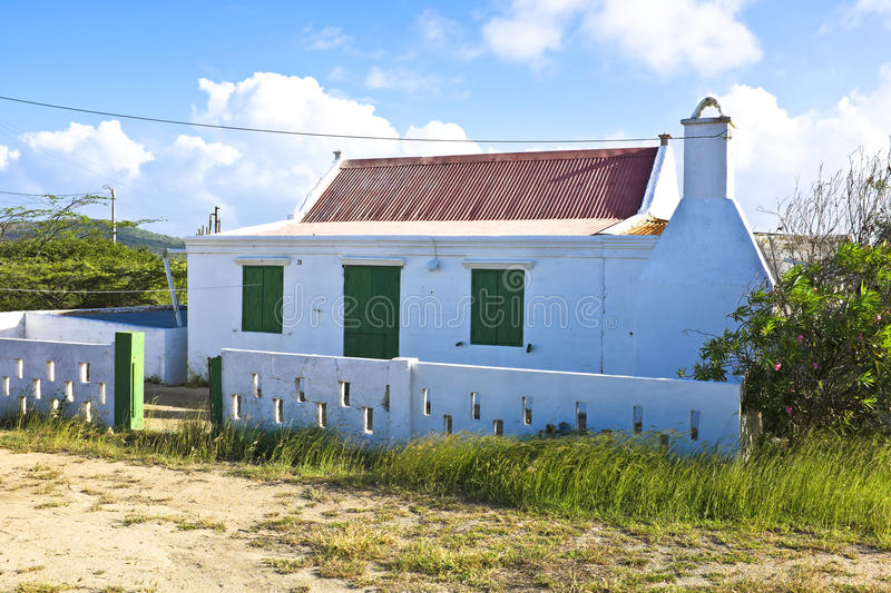 Download Typical Caribbean House In Aruba Island Stock Image - Image: 37685689
