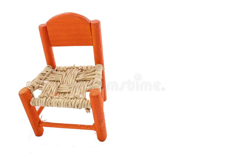 Typical chair of Mexican homes stock photos