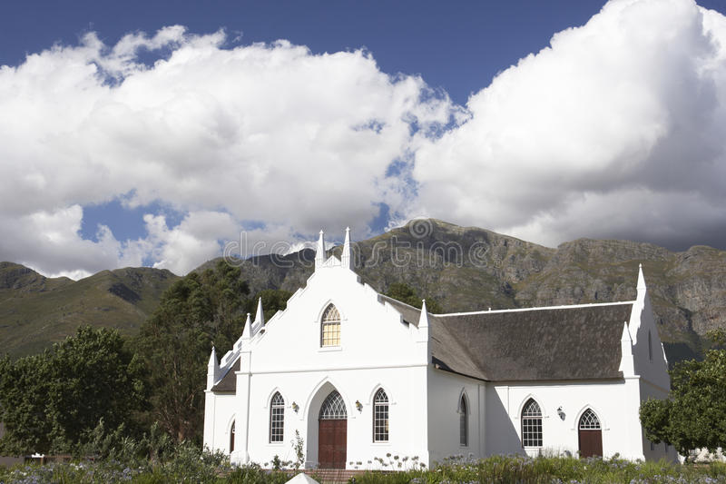 Typical Church,South Africa royalty free stock photo
