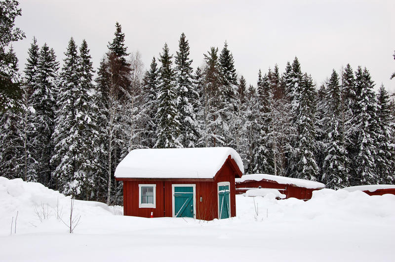 Download Typical cottage in Sweden stock photo. Image of nobody - 23500000