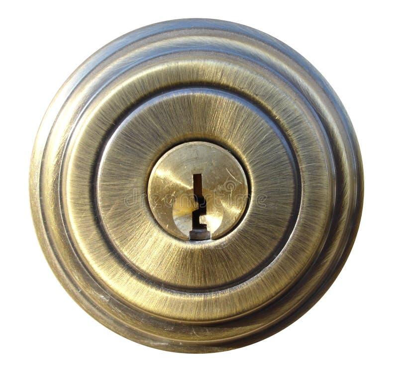 Typical Door Lock stock photo