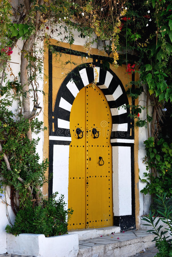 Download Typical Door In Sidi Bou Said Stock Image - Image: 28104433