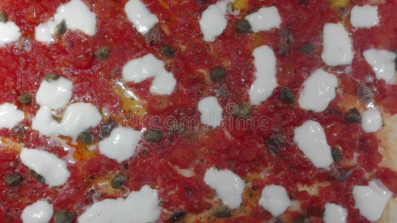 Pizza. Italian cooking style stock images