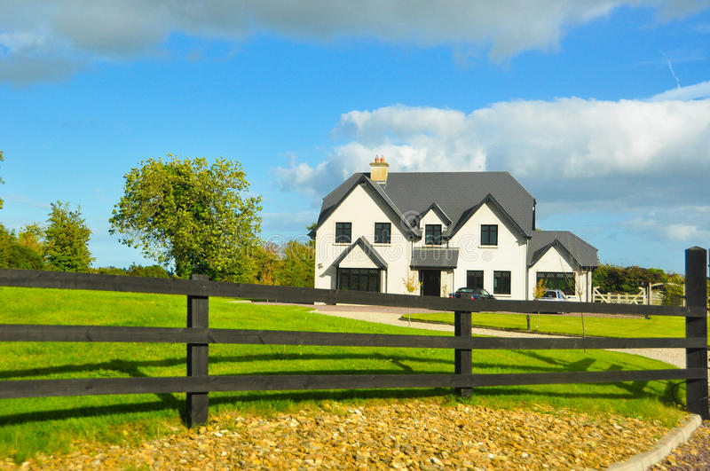 Download Typical Farm House In Ireland Stock Image - Image of home, countryside: 26223083