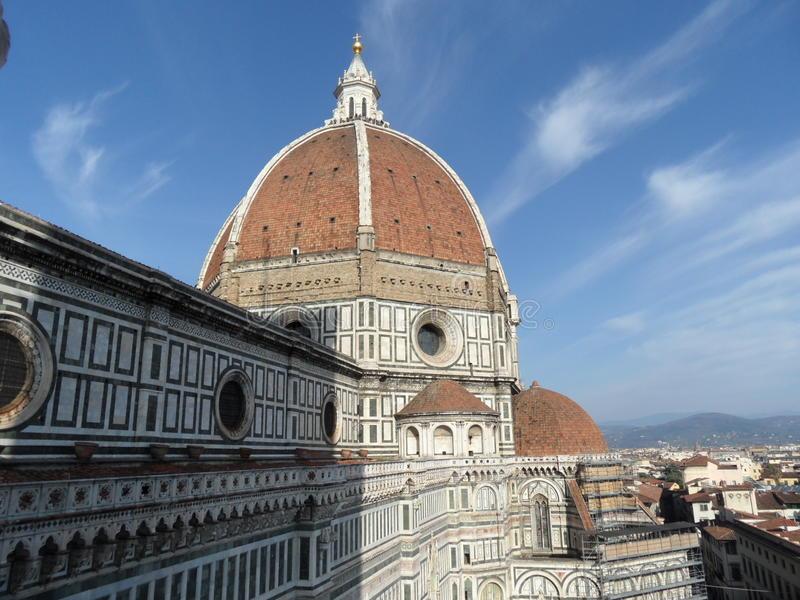 Typical florence photo royalty free stock photo