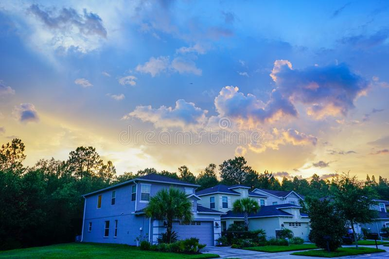 A typical Florida house stock image