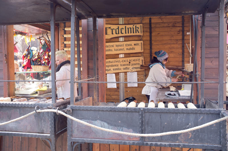Download Gastronomic Stand In Prague Editorial Stock Image - Image: 30217209