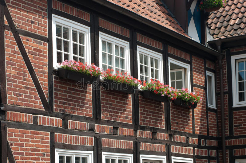 Download Typical German house stock image. Image of blooming, europe - 26589961