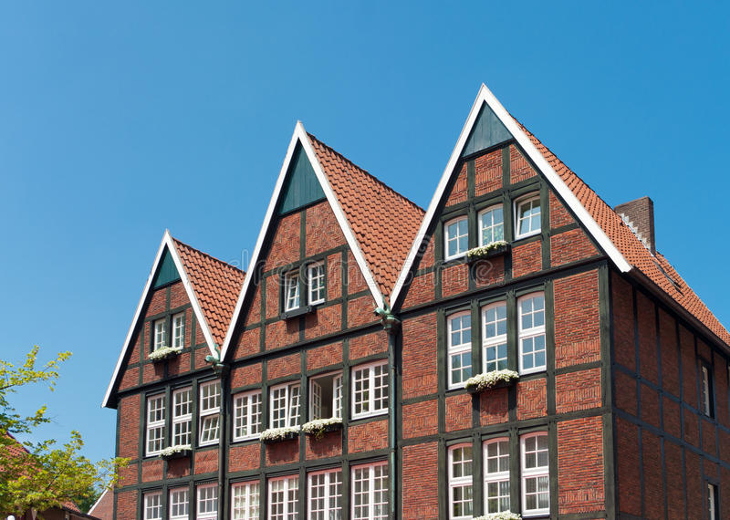 Download Typical German houses stock photo. Image of bright, timbered - 26619608