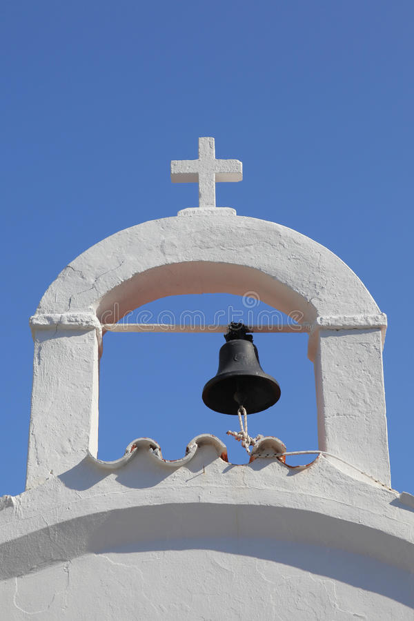 A Typical Greek Belfry Stock Images