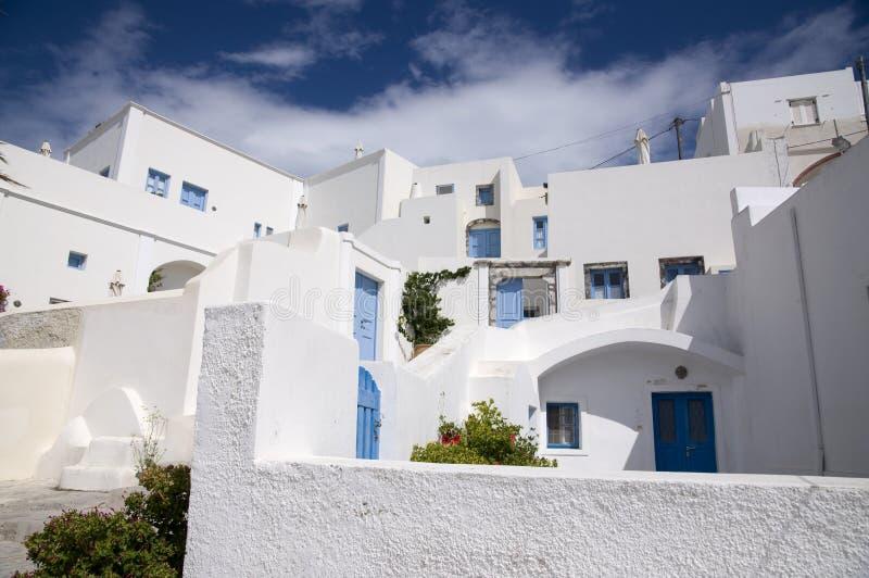Download Typical Greek neighborhood stock image. Image of village - 21612339